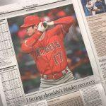 LA Times紙 「大谷は来季もDHとして使える。打撃は投手としてのリハビリを妨げない」