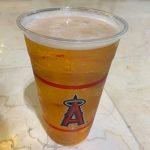 ビール高いよ、エンゼルスタジアム